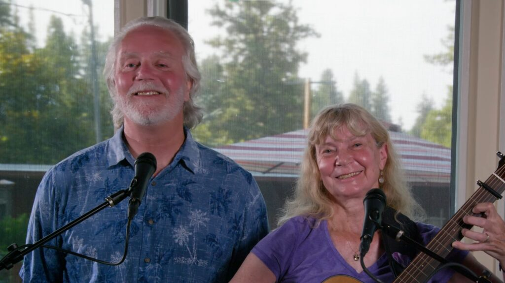 Kathy Jonas and Craig Gurney