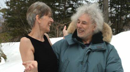 Tania Opland and Mike Freeman