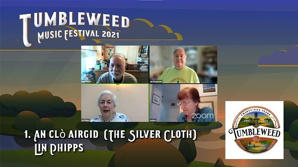 TMF 2021 Workshop #1 An clò airgid (The Silver Cloth)