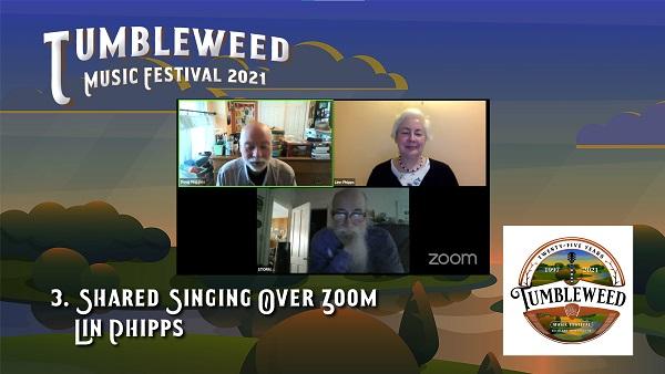 TMF 2021 Workshop #3 Shared Singing Over Zoom