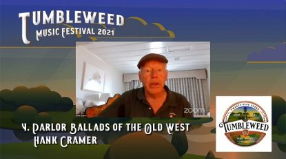 TMF 2021 Workshop #4 Parlor Ballads of the Old West