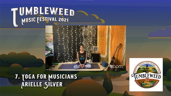 TMF 2021 Workshop #7 Yoga for Musicians