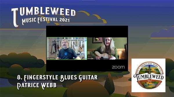 TMF 2021 Workshop #8 Fingerstyle Blues Guitar
