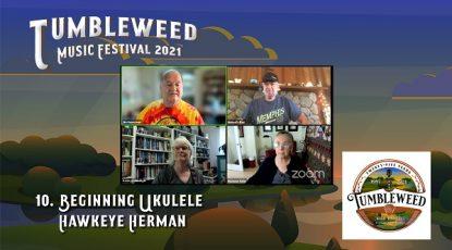 TMF 2021 Workshop #10 Beginning Ukulele