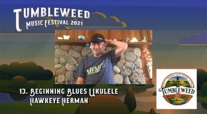 TMF 2021 Workshop #13 Beginning Blues Ukulele