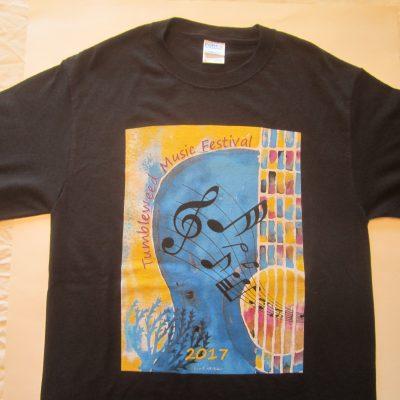 TMF 2017 Regular Cut Black T-shirt
