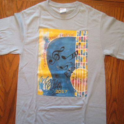 TMF 2017 Regular Cut Blue T-shirt