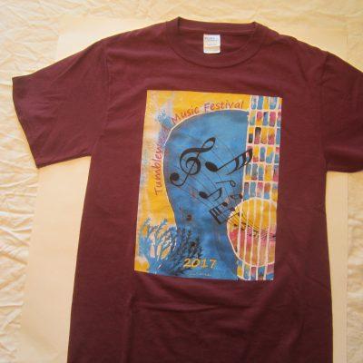 TMF 2017 Regular Cut Maroon T-shirt