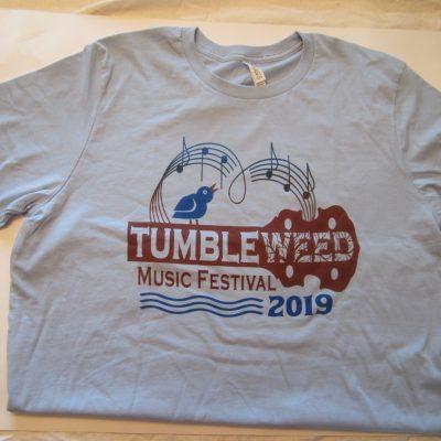 TMF 2019 Regular Cut Blue T-Shirt