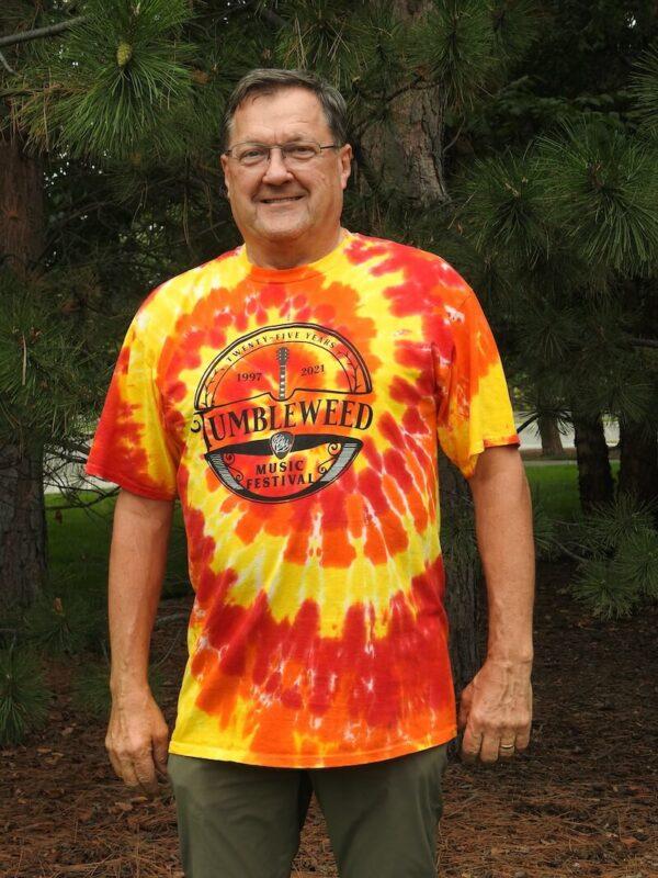 TMF 2021 Standard Cut Tie-Dyed T-shirt